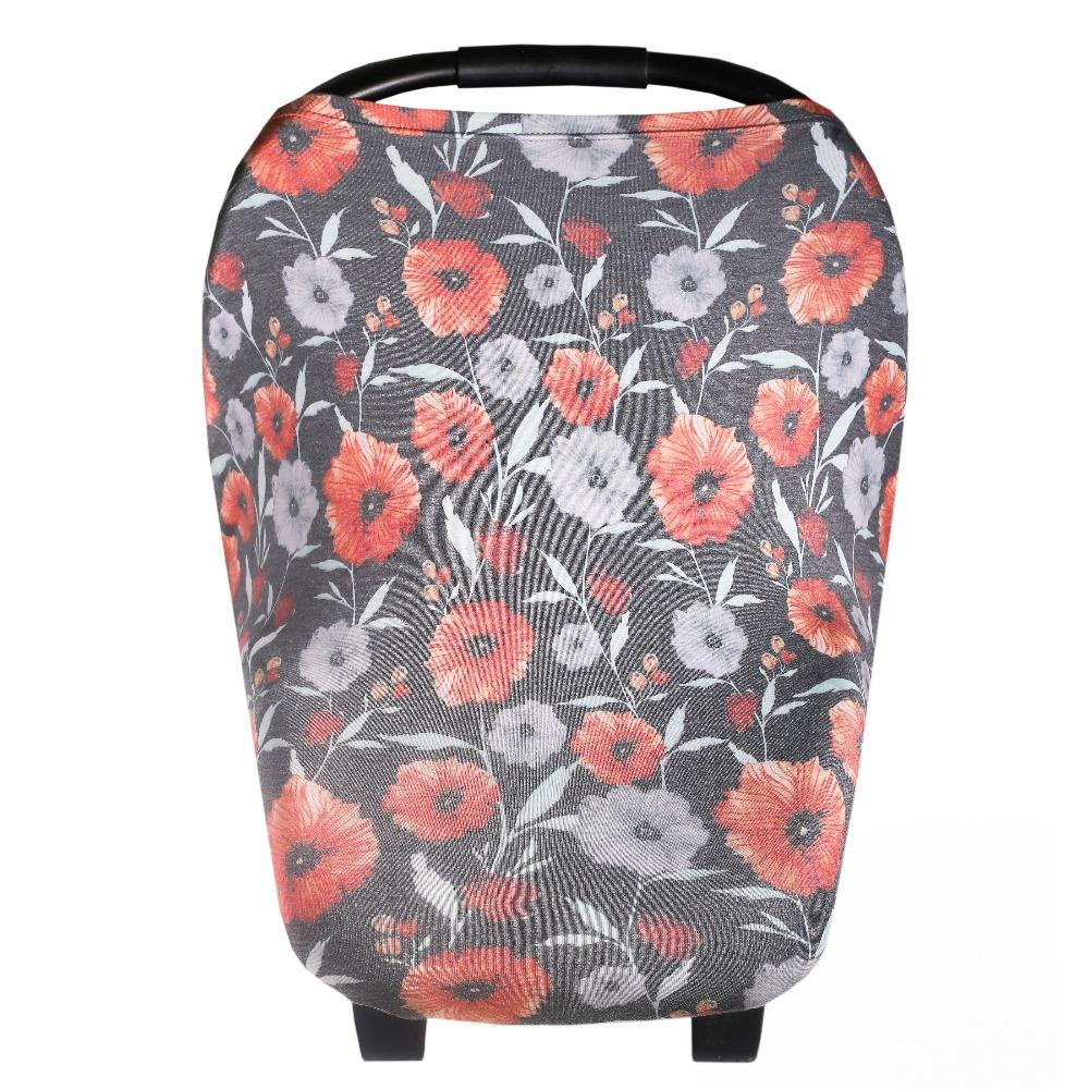 Copper Pearl Multi-Use Cover - Poppy