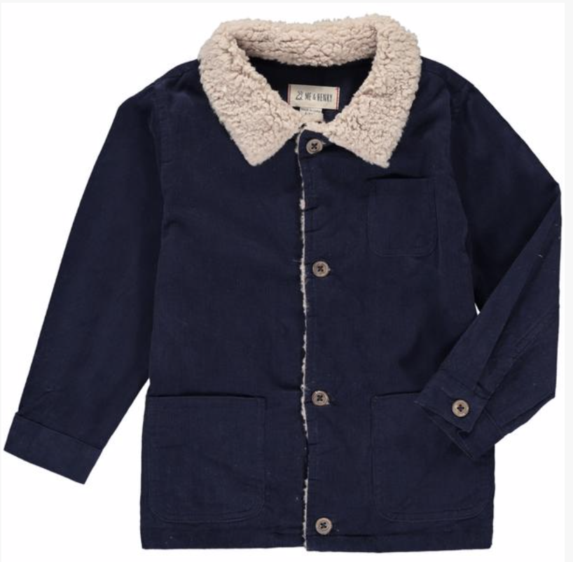 Me & Henry Navy Cord Jacket