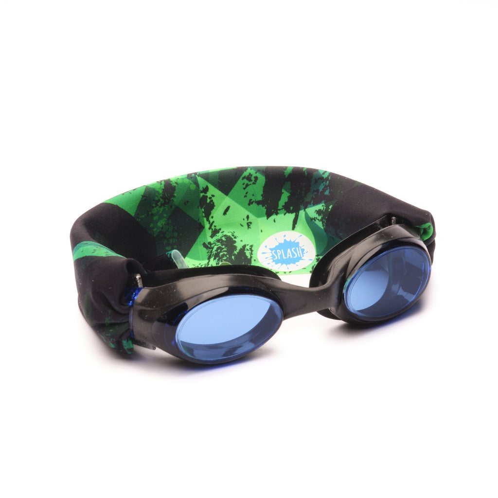 Splash Swim Goggles Green Fusion Swim Goggles
