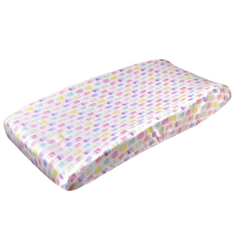 Copper Pearl Premium Diaper Changing Pad Cover - Summer