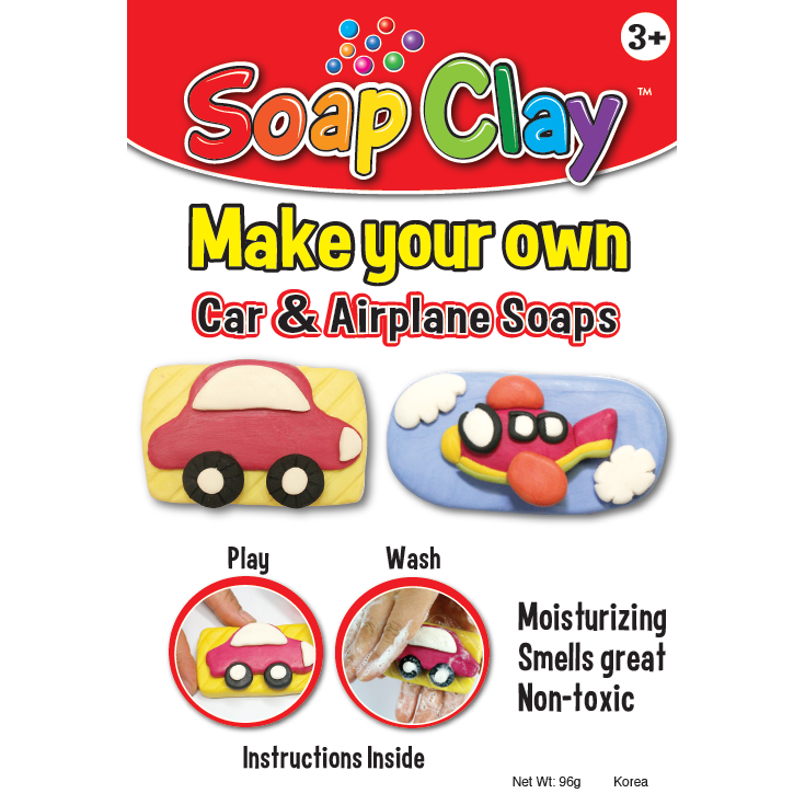 Pencil Grip Soap Clay Kit - Transportation