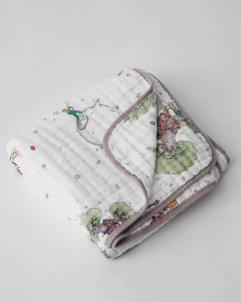 Little Unicorn Little Prince Cotton Muslin Quilt - The Little Prince
