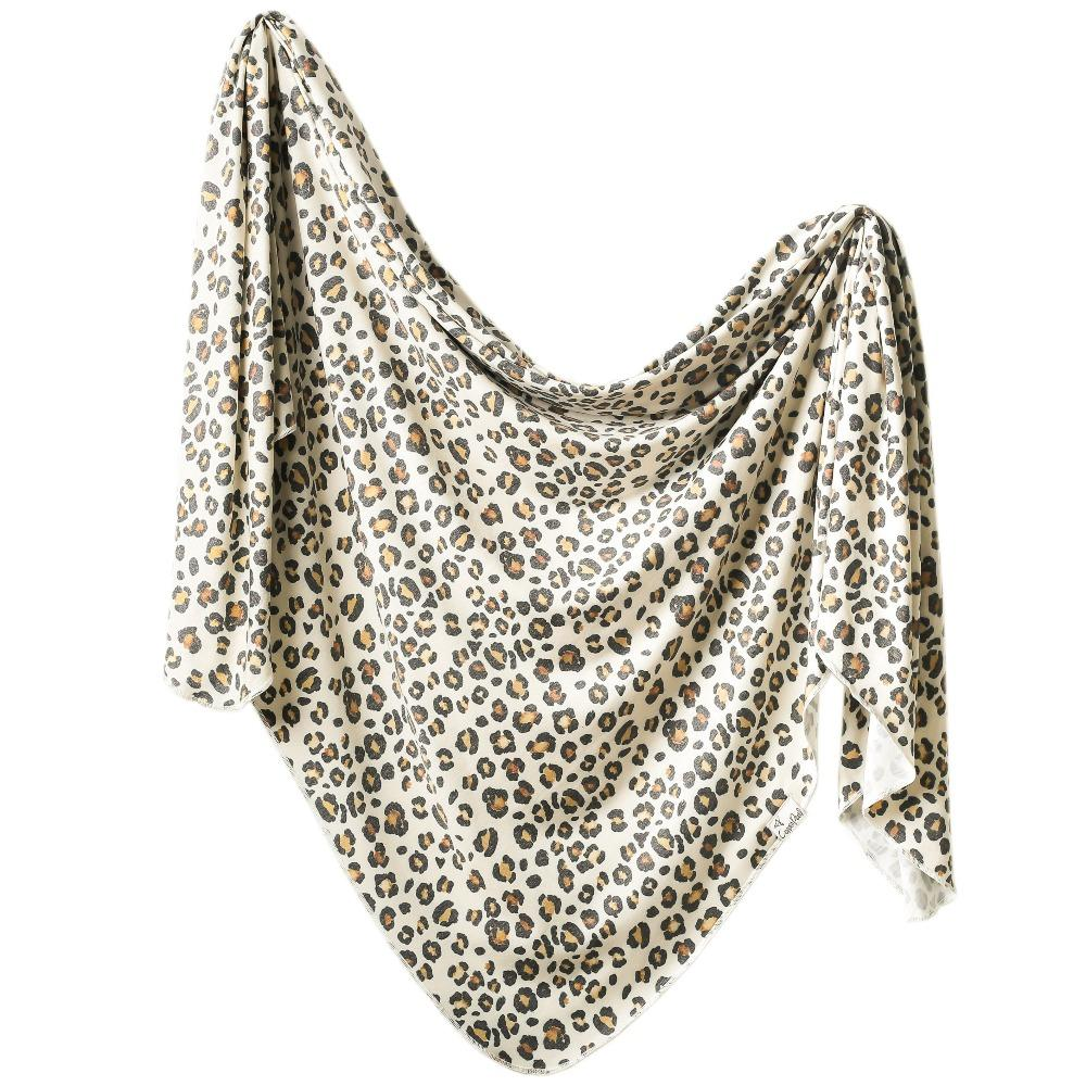 Copper Pearl Knit Swaddle Blanket - Zara