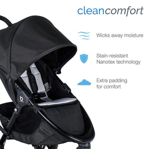 Britax B-Free + Endeavours Clean Comfort Travel System