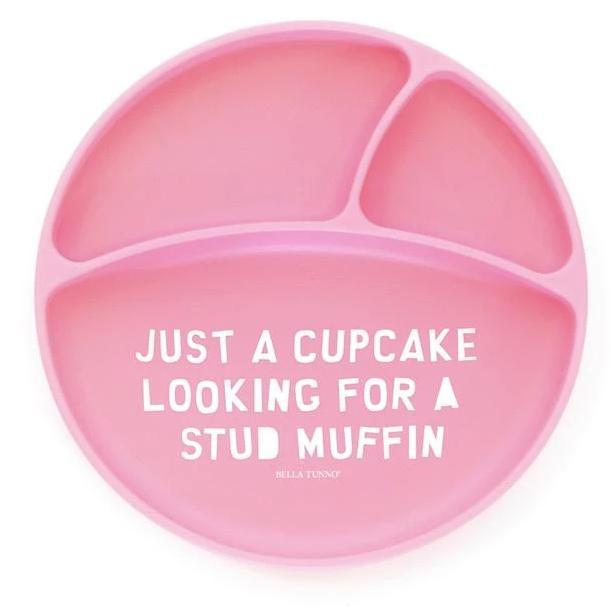 Bella Tunno Cupcake Looking for a Stud Muffin Wonder Plate