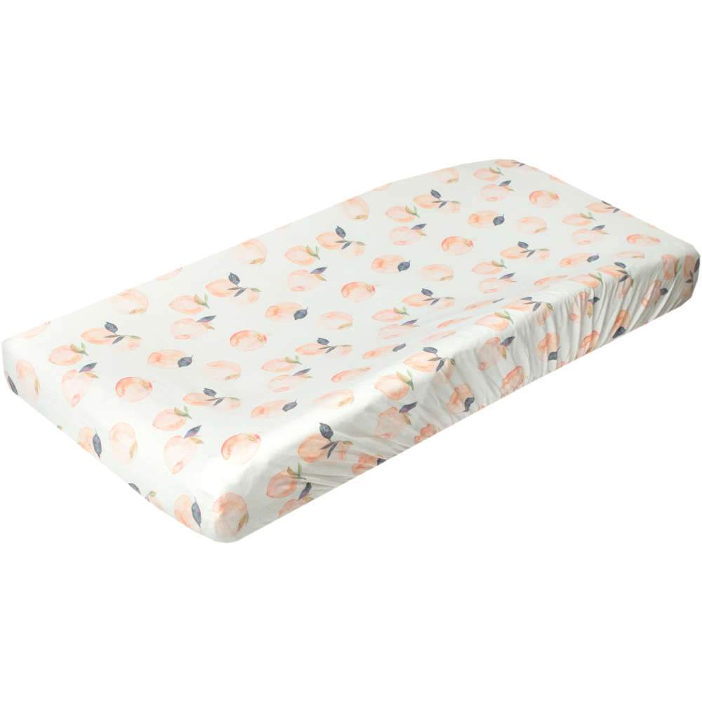 Copper Pearl Premium Knit Diaper Changing Pad Cover | Caroline