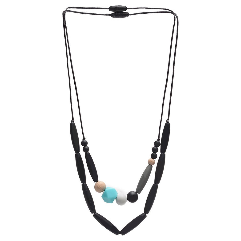 Chewbeads Brooklyn Collection Metropolitan Teething Necklace