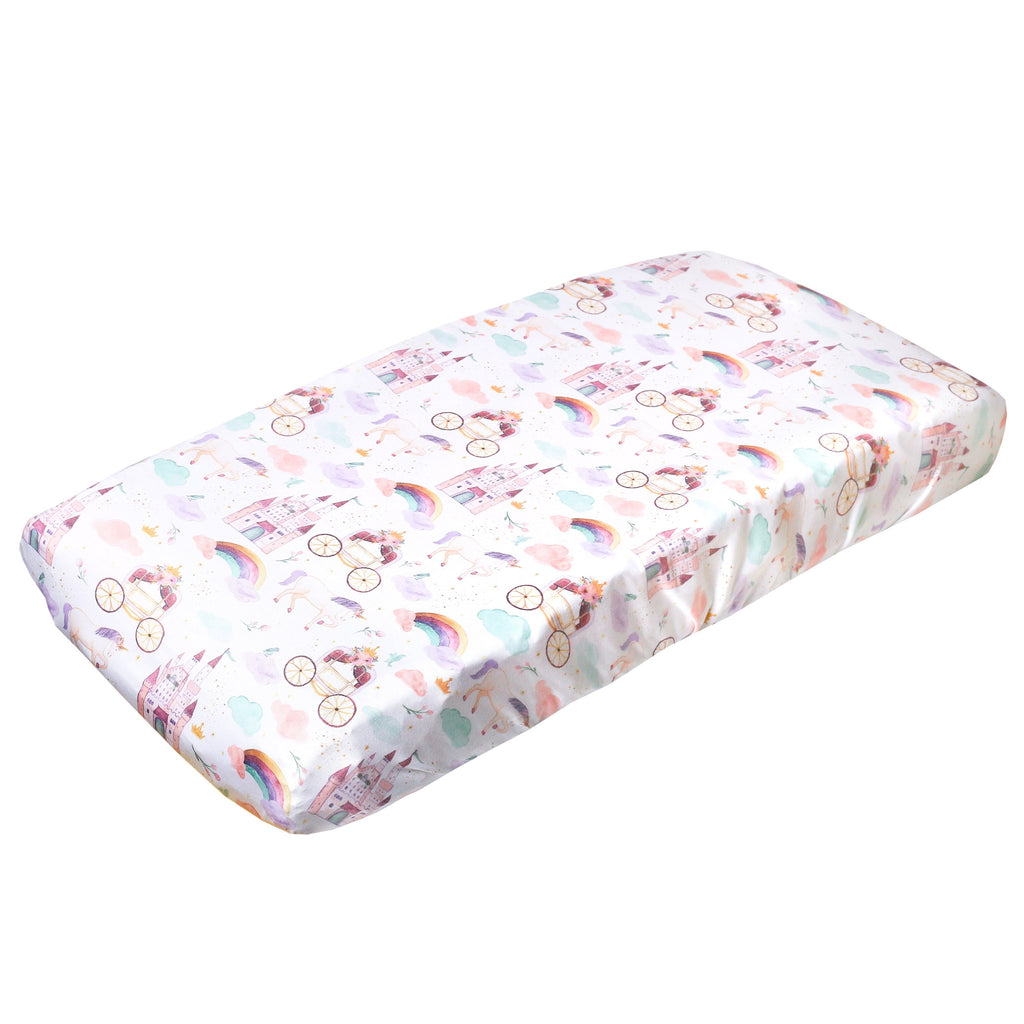 Copper Pearl Premium Knit Diaper Changing Pad Cover | Enchanted