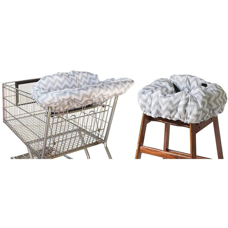 Itzy Ritzy Itzy Sitzy Shopping Cart & High Chair Cover