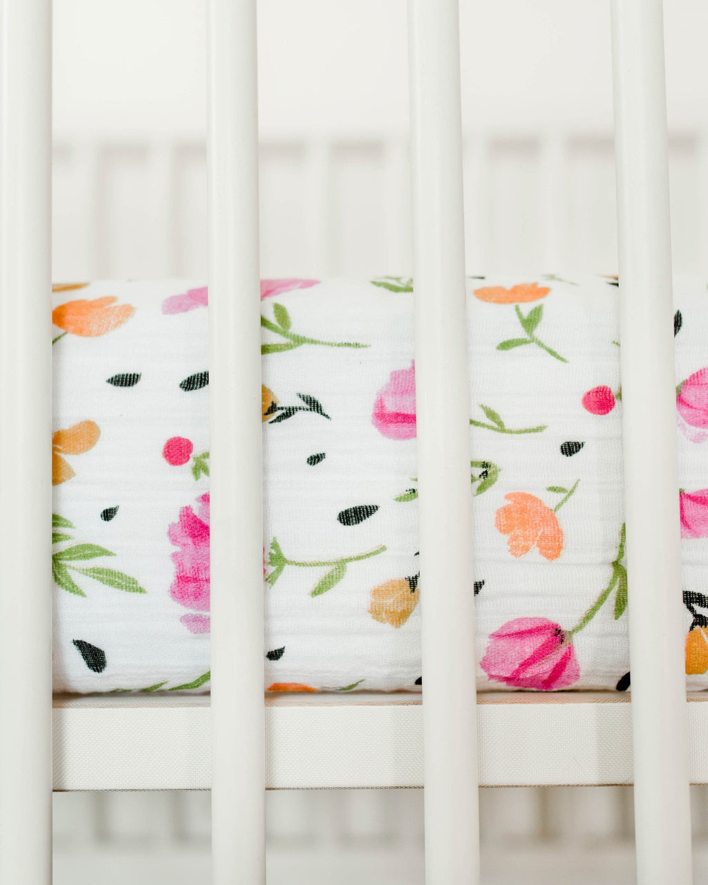 Little Unicorn Cotton Muslin Crib Sheet - Berry & Bloom