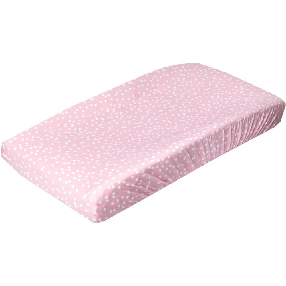 Copper Pearl Premium Knit Diaper Changing Pad Cover | Lucy