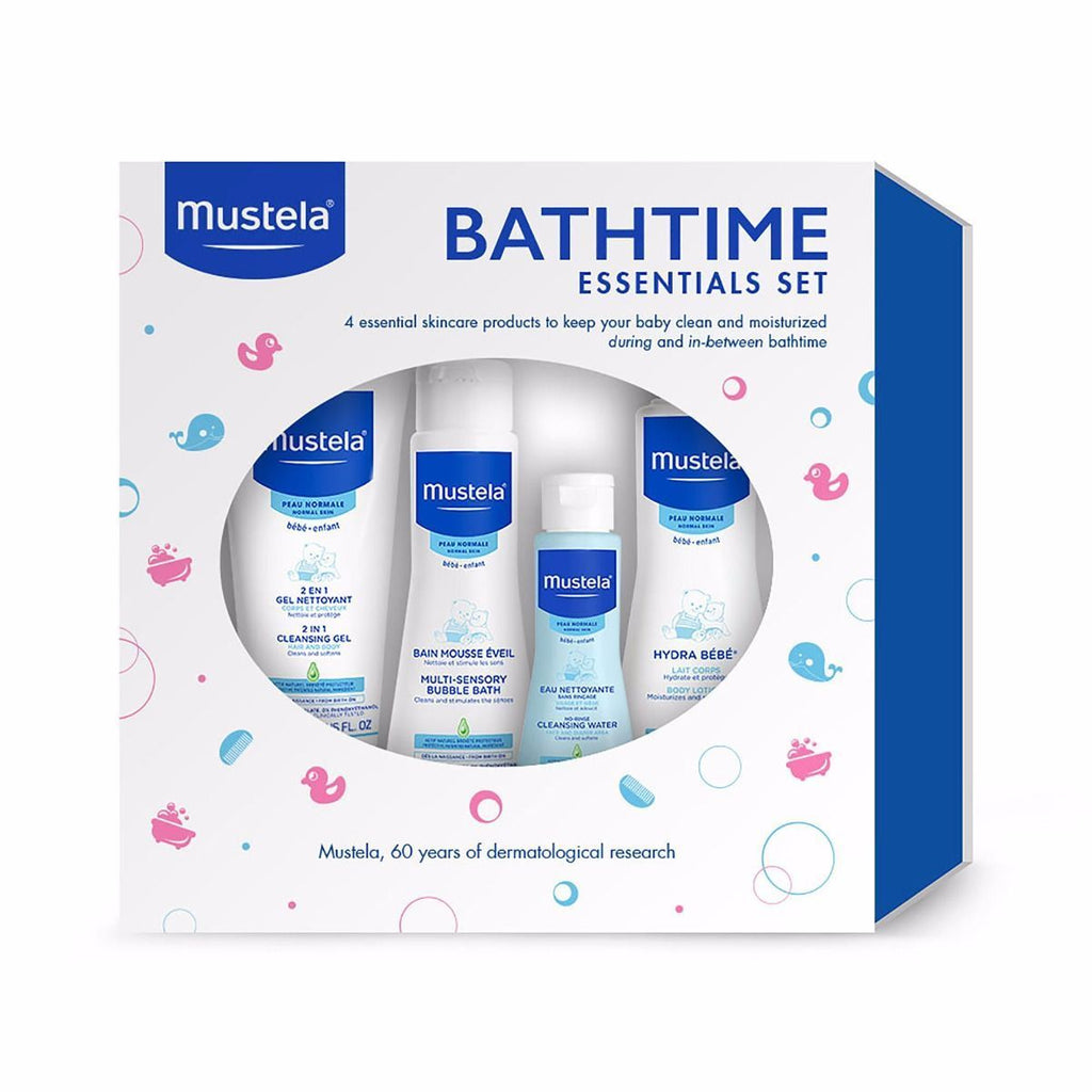 Mustela Bathtime Essentials Set