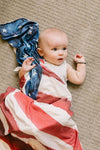 Copper Pearl Knit Swaddle Blanket | Patriot