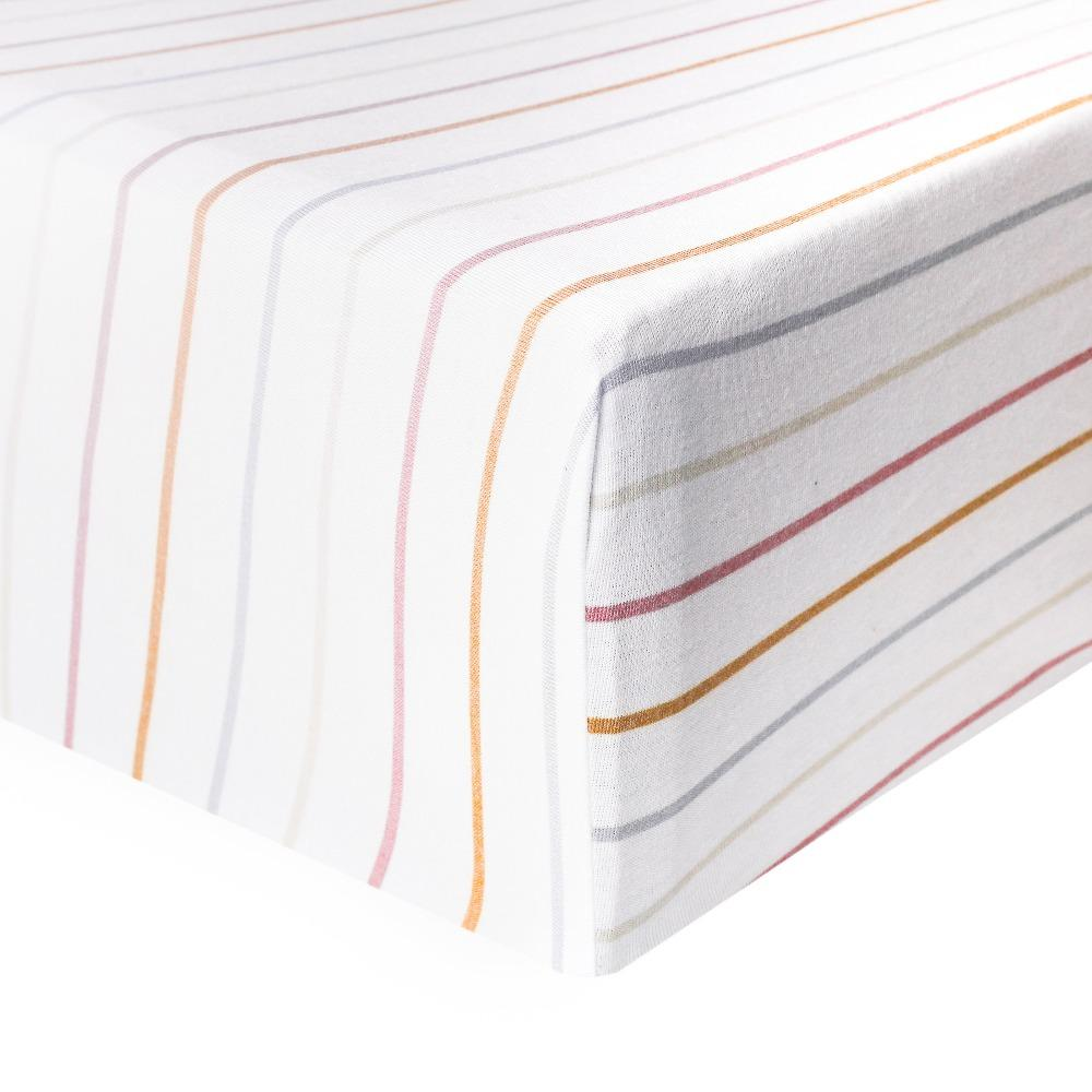 Copper Pearl Premium Crib Sheet - Piper