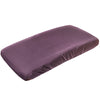 Copper Pearl Premium Diaper Changing Pad Cover - Plum