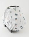 Little Unicorn Cotton Muslin Car Seat Canopy - Prickle Pots