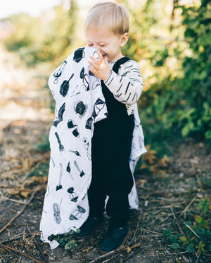Little Unicorn Cotton Swaddle - Camp Gear