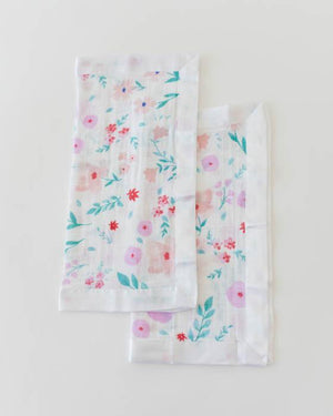 Little Unicorn Cotton Muslin Security Blankets - Morning Glory