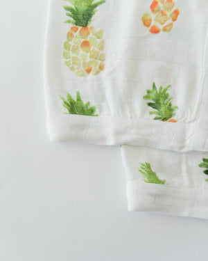 Little Unicorn Deluxe Security Blankets - Pineapple