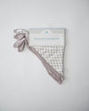 Little Unicorn Deluxe Muslin Bandana Drool Bib - Houndstooth