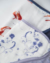 Little Unicorn Deluxe Muslin Bandana Drool Bib 2 pack - Porcelain Pond Set
