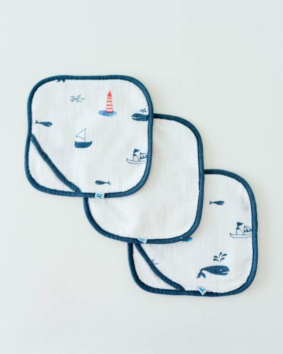 Little Unicorn Washcloth Set - Nautical Harbor