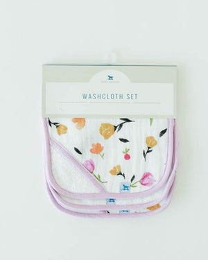 Little Unicorn Washcloth Set - Berry and Bloom