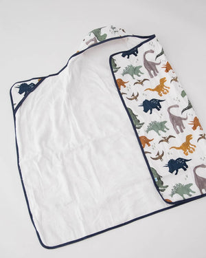 Little Unicorn Big Kid Hooded Towel - Dino Friends