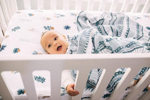 Little Unicorn Cotton Swaddle - Santa Fe