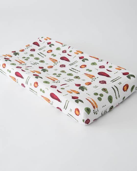 Little Unicorn Cotton Changing Pad Cover - Farmers Market