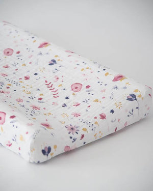 Little Unicorn Cotton Changing Pad Cover - Fairy Garden