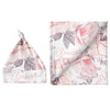 Sugar + Maple Large Blanket & Hat Set - Wallpaper Floral