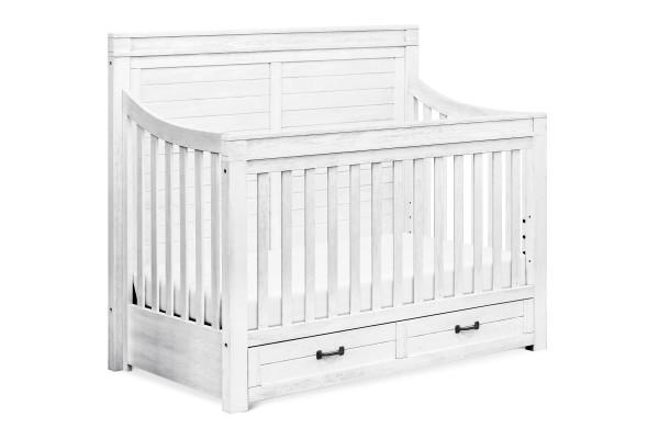 Million Dollar Baby Classic Hollis 4-in-1 Convertible Storage Crib