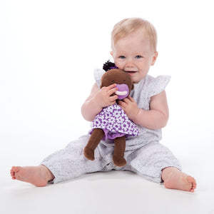 Manhattan Toy Company Wee Baby Stella Doll Brown