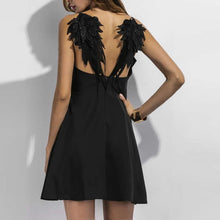 "Load image into Gallery viewer, ""Dark Angel"" Club Dress"