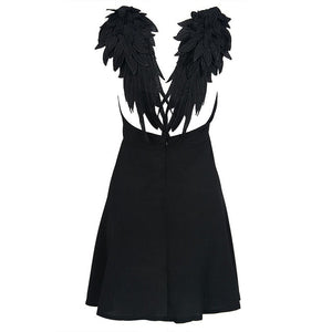 """Dark Angel"" Club Dress"