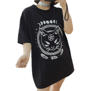 """Moon Phase"" Short Sleeve T-Shirt"