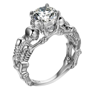 """Our Jewel"" Skeleton Ring"
