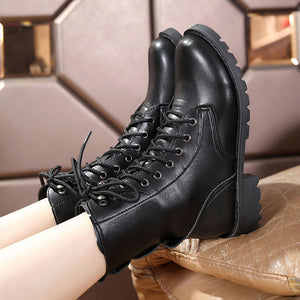 'Ankle Anarchy' Low Heel Boots