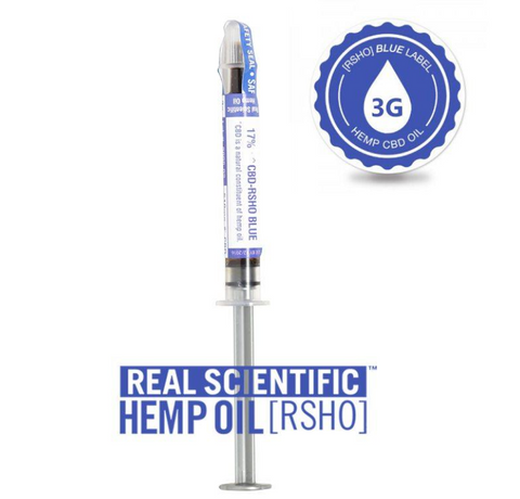 BLUE LABEL 3G CBD HEMP OIL 510MG CBD
