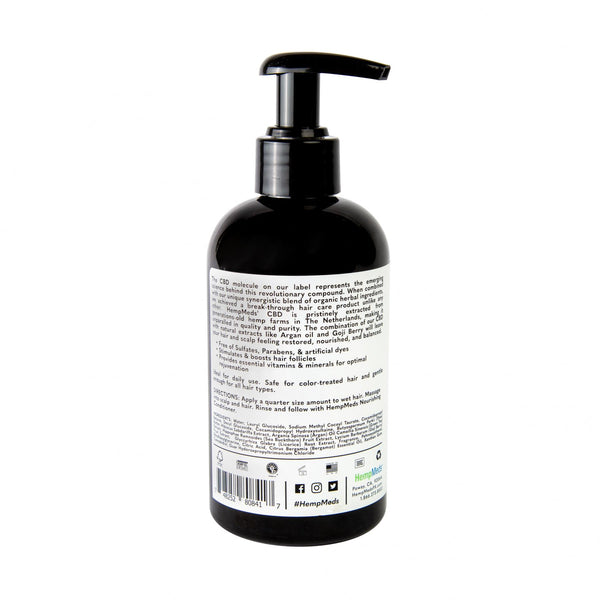 HYDRATING & PURIFYING HEMP SHAMPOO FOR ALL HAIR TYPES (SULFATE-FREE)