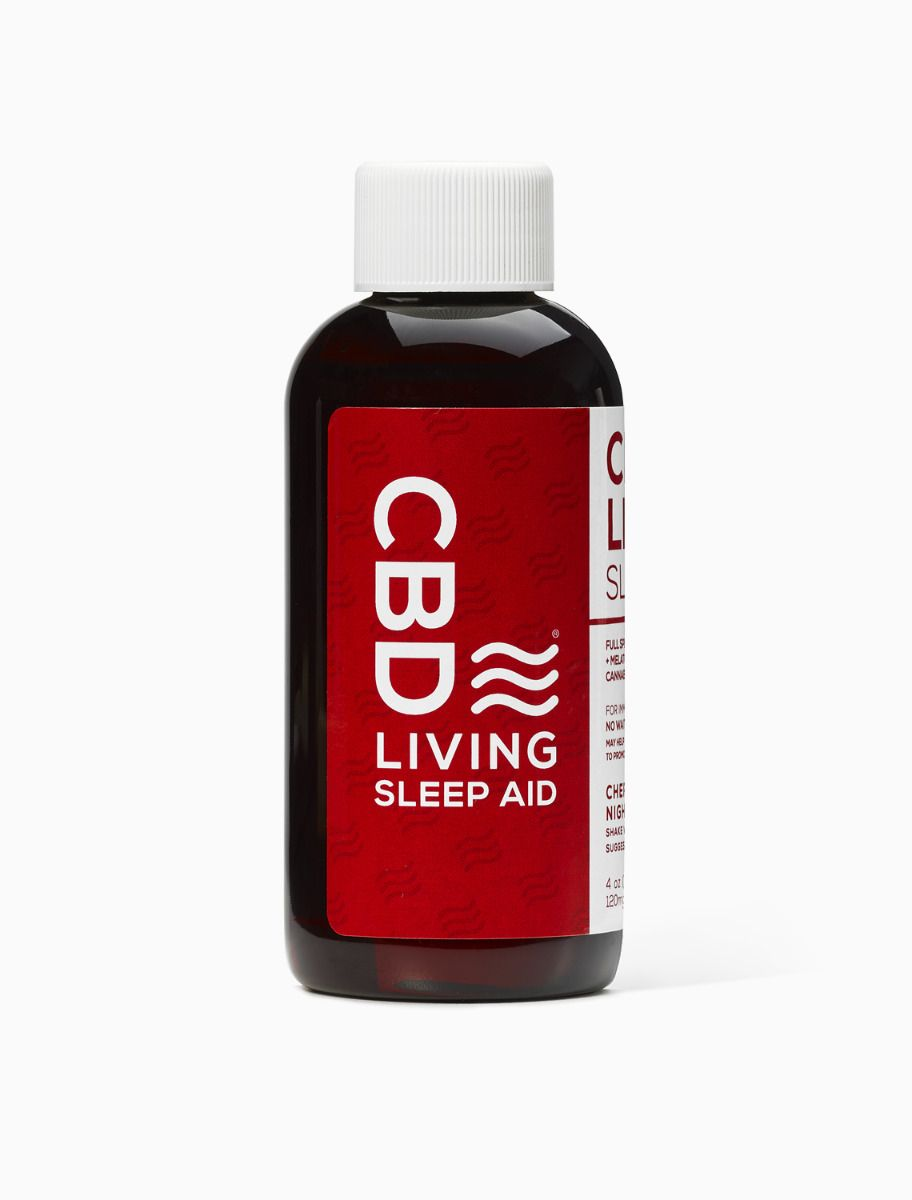CBD Living Sleep Aid Cherry Flavour