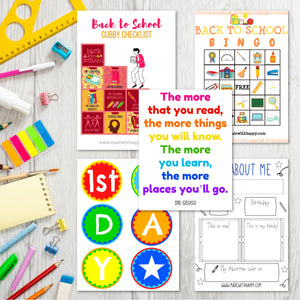 Back to School Printable Bundle
