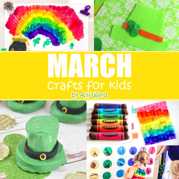 March Crafts For Kids - 14 Crafts and Printables