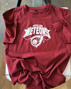 METEORS SHIRT BORDEAUX