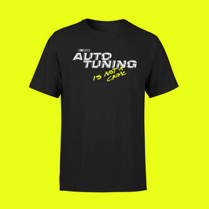 AUTOTUNING SHIRT BLACK