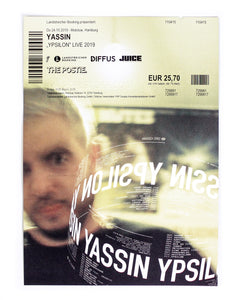 "TICKET ""YASSIN YPSILON TOUR"""