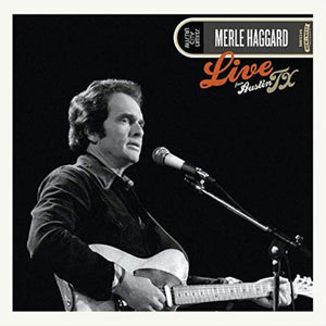 Merle Haggard - Live From Austin TX [LP - Color]