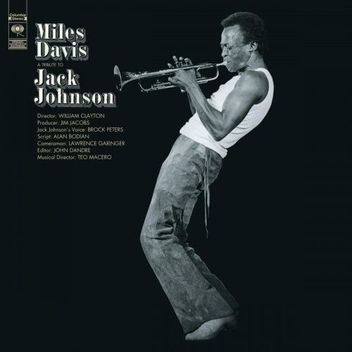 Miles Davis - A Tribute To Jack Johnson [LP]