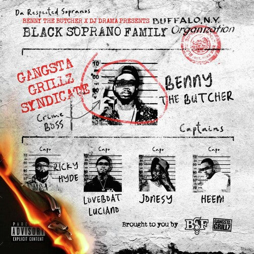 Benny the Butcher & DJ Drama - Present: Black Soprano Family [2xLP]